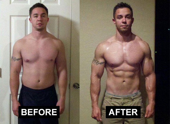 Tren Steroid Before & After