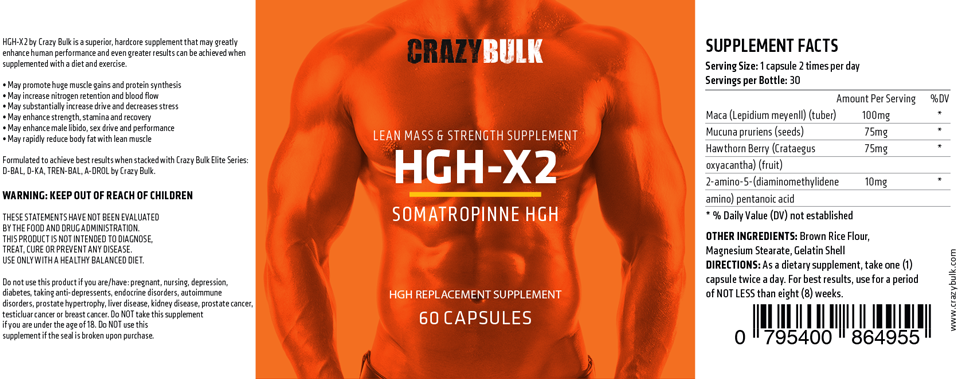 HGH-X2 - Alternative to HGH Injections