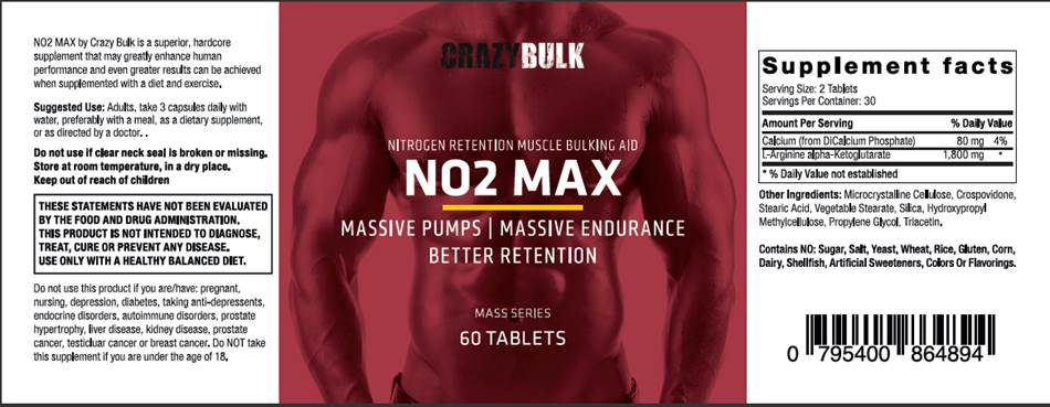 NO2-Max Nitric Booster